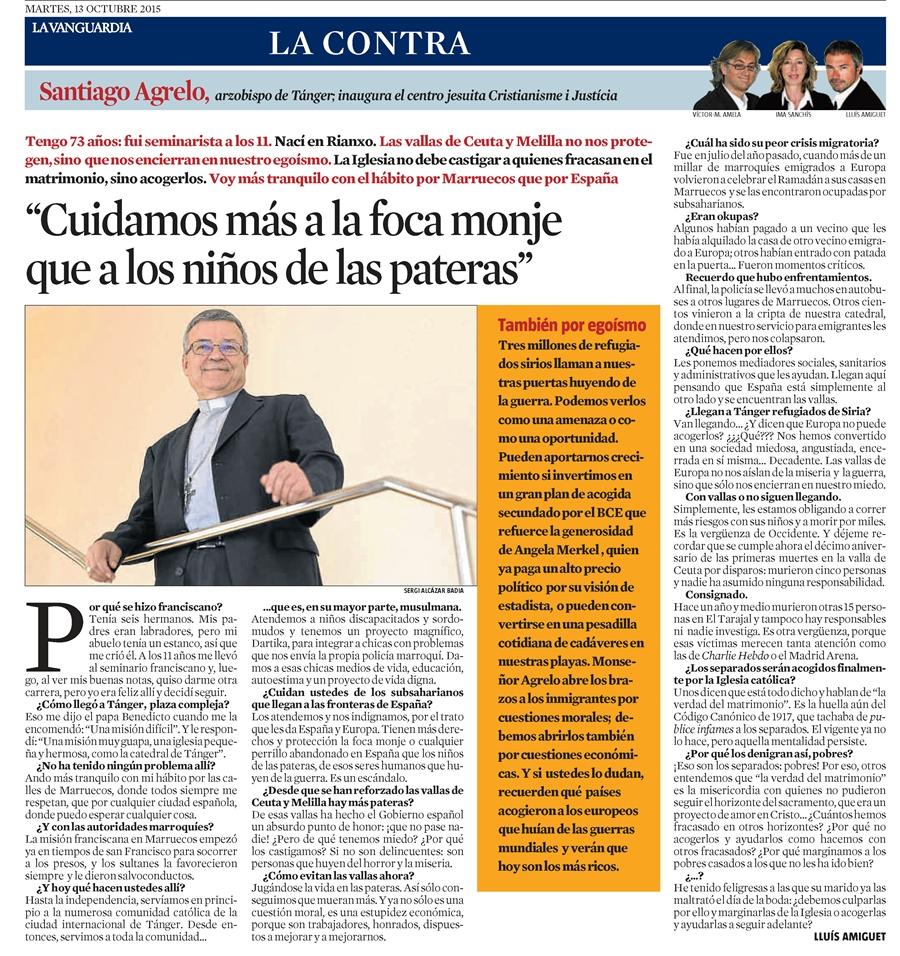 Mons. Agrelo - Entrevista